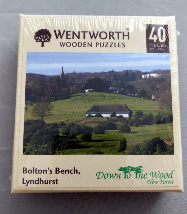 a jigsaw of Bolton's bench