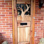 Hand-made front door